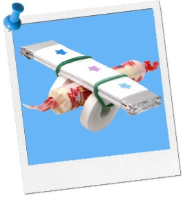 Candy Airplane #party #plane #favor