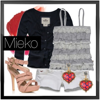 Mieko strappy sandal #shoes