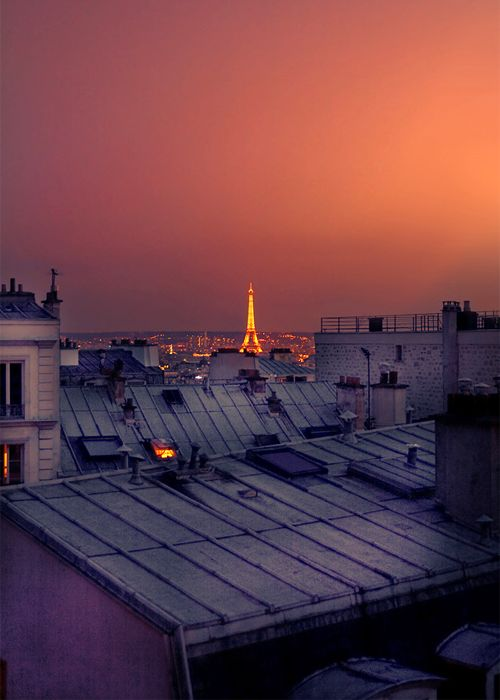 Paris, how I would love to be able to travel through Europe