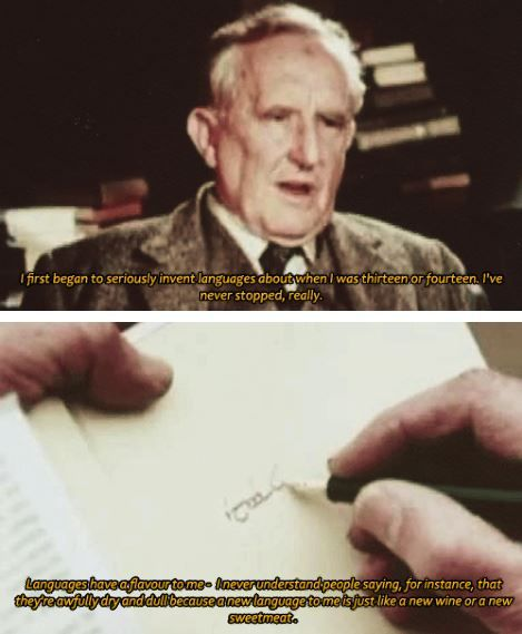 This man has given the world so much. Thank you, J.R.R. Tolkien <3