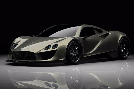 Bently Silver Wings Concept Supercar