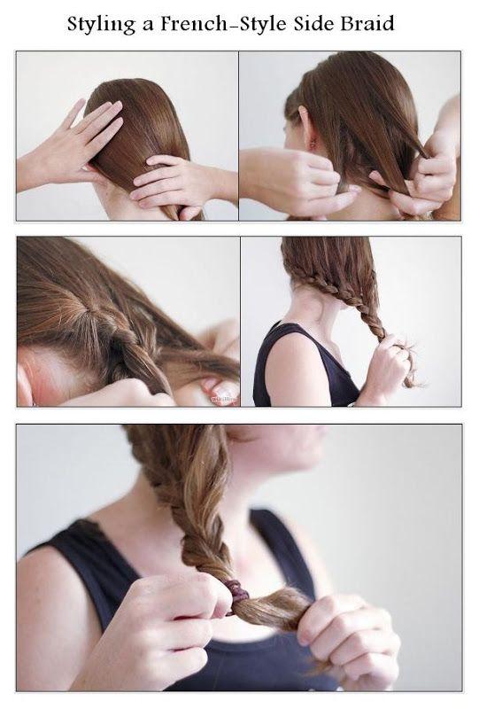 Make a French-Style Side Braid