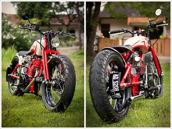 DariztDesign's Honda CB125 - 'Attempt #13' - Pipeburn - Purveyors of Classic Motorcycles, Cafe Racers & Custom motorbikes