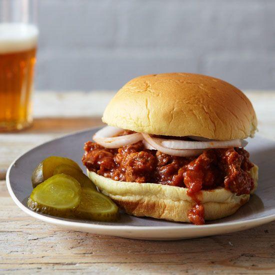Spicy Sloppy Joes // More Tasty Sandwiches: www.foodandwine.c... #foodandwine