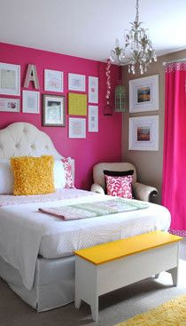 Girls' Bedroom Decorating Ideas - Right, Now