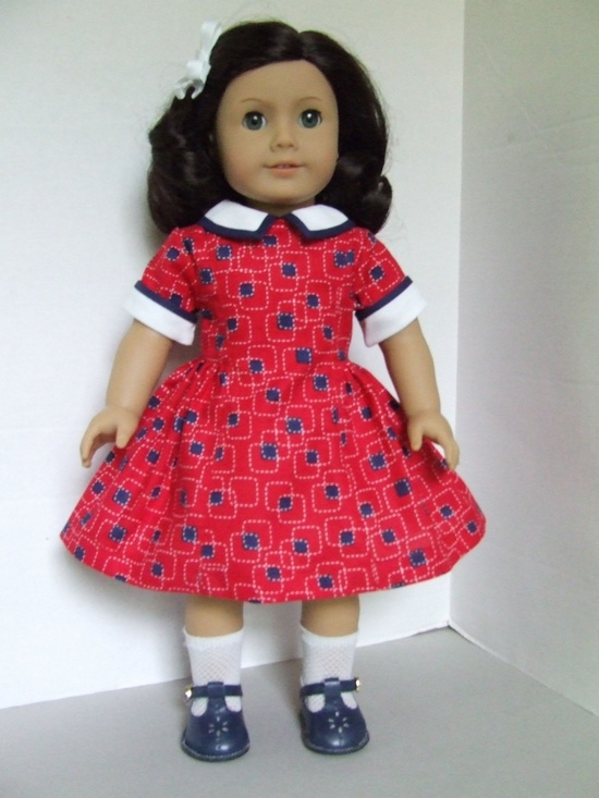 American Girl Depression Era / World War II dress