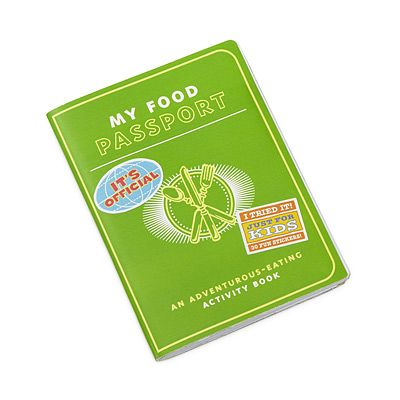 Picky eater 'passport' $10.00