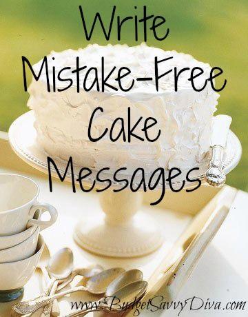 Make a pretty cake :)