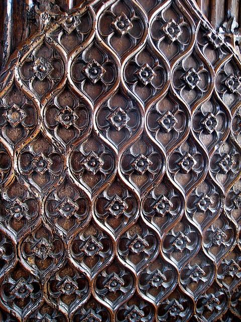 carved wood