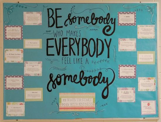 Be Somebody Who Make