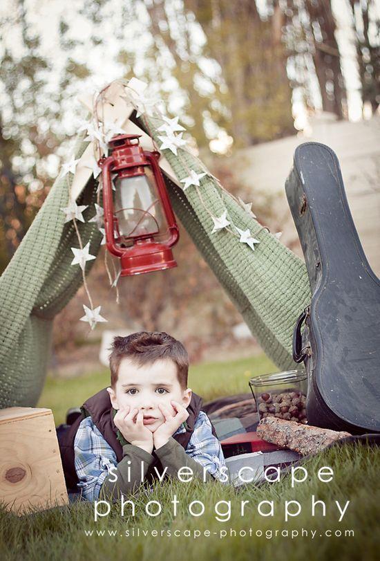 idea for children photo shoot