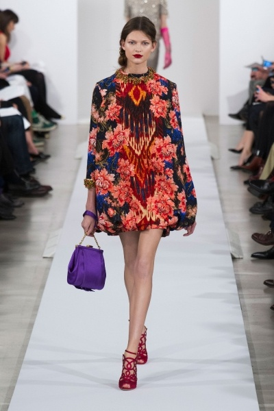 Oscar de la Renta Fall 2013 Runway High Fashion featured
