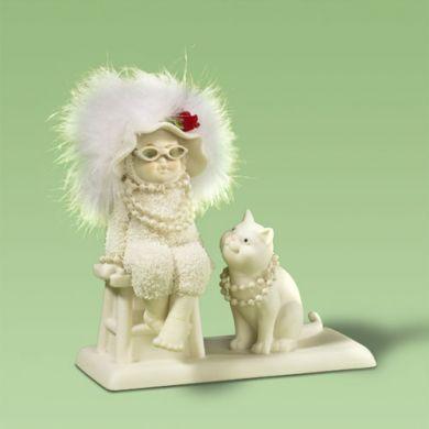 snow babies  cat