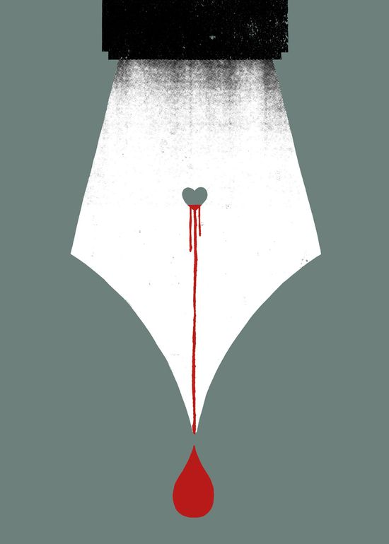 Scripturient - Possesing a violent desire to write. Unusual Words Rendered in Bold Graphics | Brain Pickings