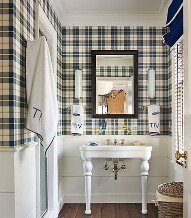 I love this wainscoting