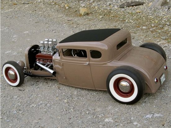Buick Nailhead engine & killer Rat Rod