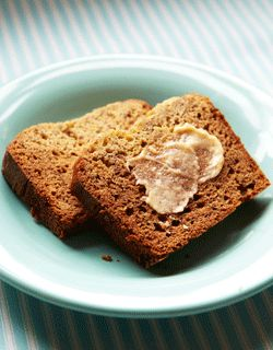 Slow Cooker Banana Bread with Cinnamon Butter
