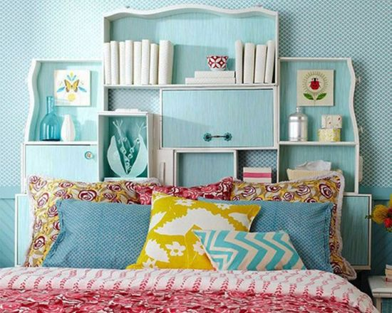 Modern bedroom headboard ideas picture
