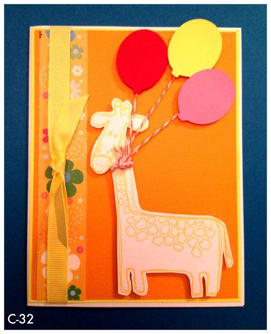 Kids handmade card.