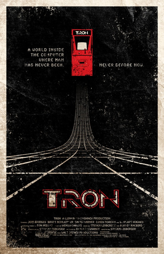 Tron Movie Poster Uncovet