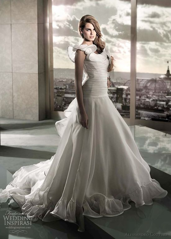 Alessandro Couture Wedding Dresses 2012