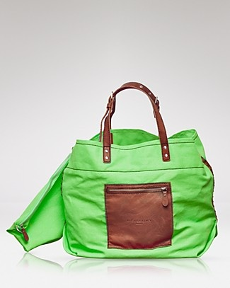 Liebeskind Tote- Neon Canvas Large