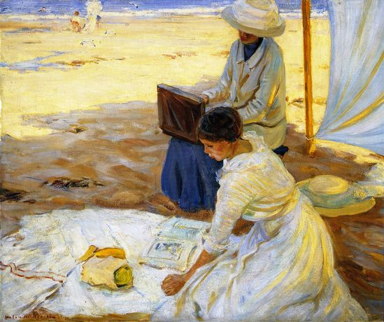 The Athenaeum - Under the Shadow of the Tent (Helen Galloway McNicoll - )