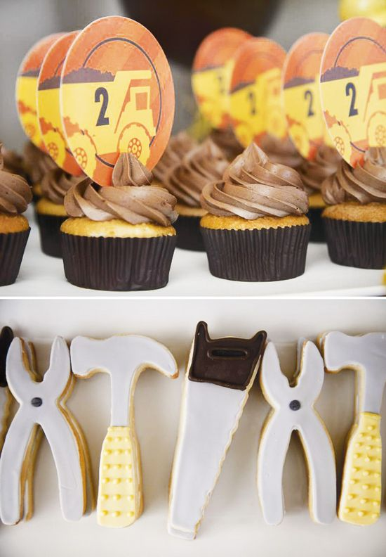 Construction Party {Boy Birthday Theme} // Hostess with the Mostess®