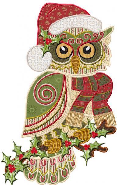 Harry Christmas Owl