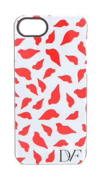 DVF iPhone 5 case --cute lip print.