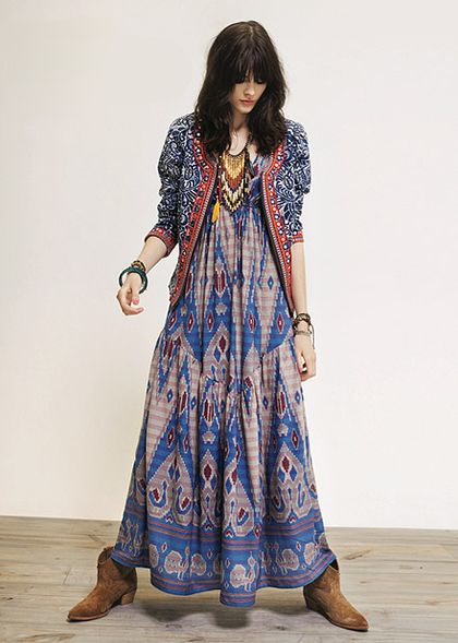 Rapsodia Ethnic Maxi Dress