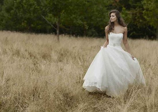 Country wedding dress #Romantic Life Style