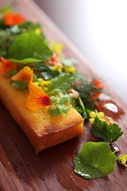 Corn Bread, Avocado, Summer Salad by aficionado #Salad #Corn_Bread #Avocado #afficonado