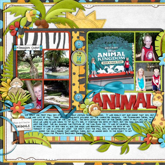 Animal Kingdom General - Page 9 - MouseScrappers.com