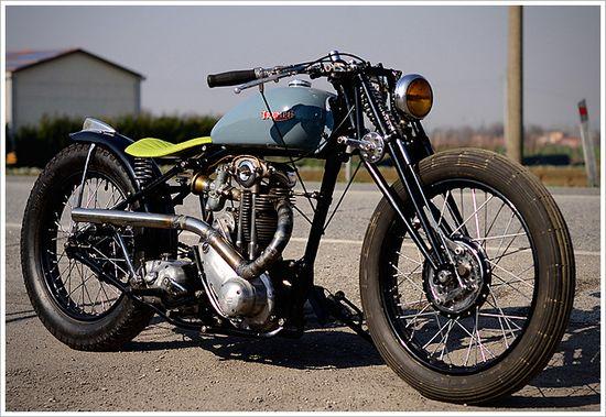 '39 Triumph 3HW Bobber - B.R.Moto