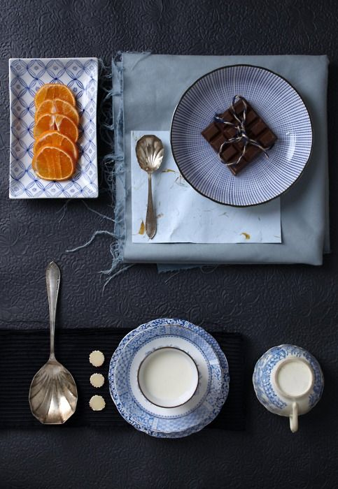 Beautiful food styling
