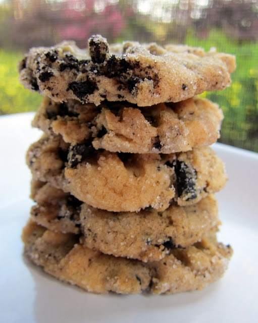 Cookies and Cream Peanut Butter Cookies....