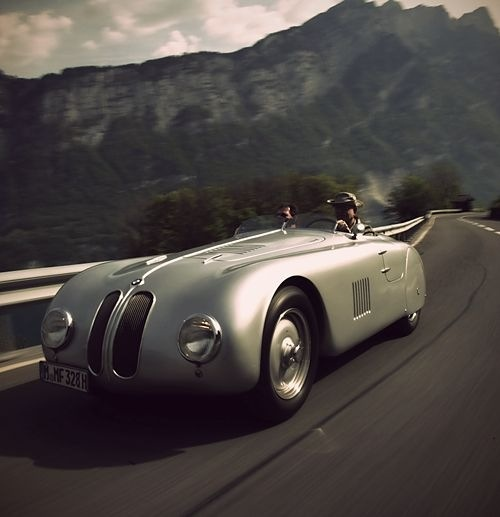 The BMW 328 is a sports car made by BMW between 1936 and 1940