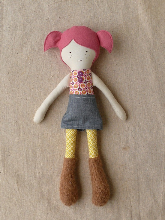 love this handmade doll
