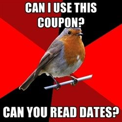 Retail robin. OH the joys of working in retail!
