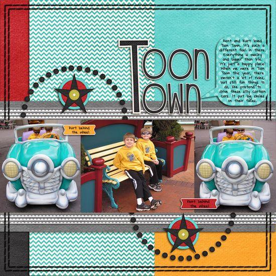 Toon Town - Scrapbook.com