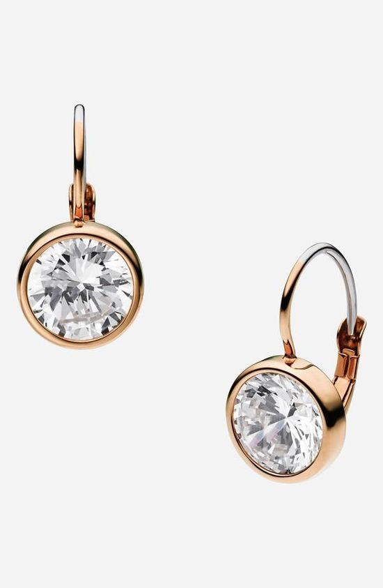 Michael Kors 'Botanicals' Drop Earrings