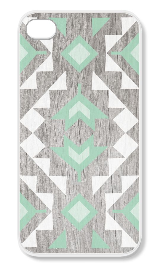 Mint Tribal iPhone Case