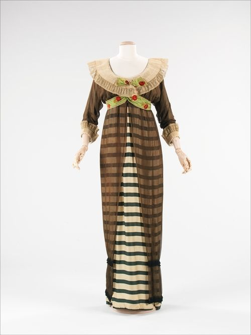 Paul #Poiret evening dress ca. 1910 via The Costume...