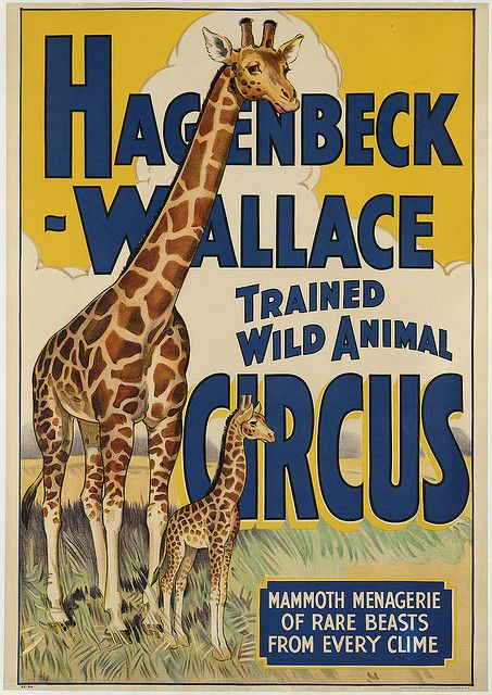 Hagenbeck-Wallace Trained Wild Animal Circus
