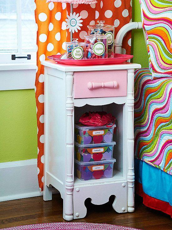 Organizing girl stuff