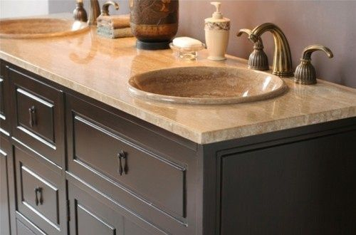 like the sinks that raise above the #bathroom decorating before and after