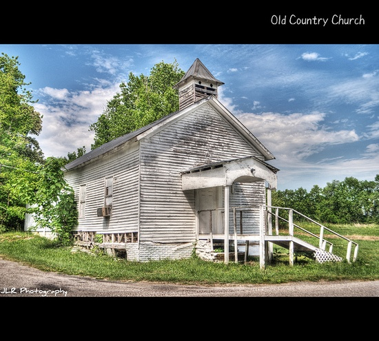 Old Country Church by photojourney57, via Flickr