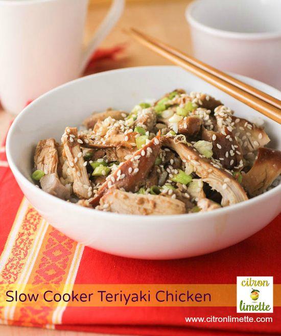 Yummy Slow Cooker Teriyaki Chicken