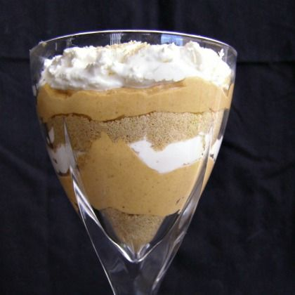 Pumpkin Cheesecake Parfaits
